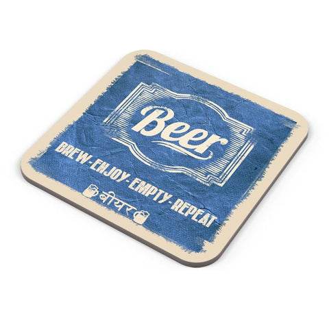 Buy Coasters Online | BEER Coasters Online India | PosterGuy.in