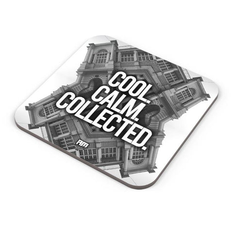 Buy Coasters Online | COOL. CALM. COLLECTED. Coasters Online India | PosterGuy.in