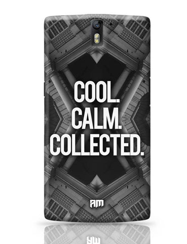 OnePlus One Covers | COOL. CALM. COLLECTED. OnePlus One Case Cover Online India