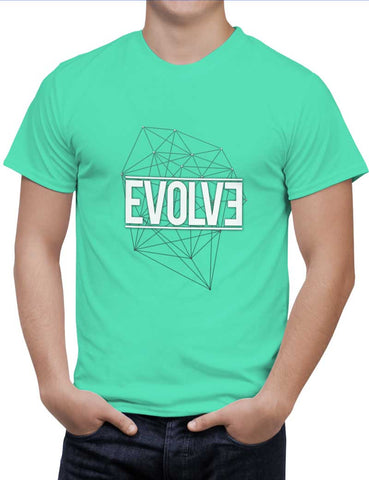 Buy Evolve Woman T-Shirts Online India | Evolve T-Shirt | PosterGuy.in