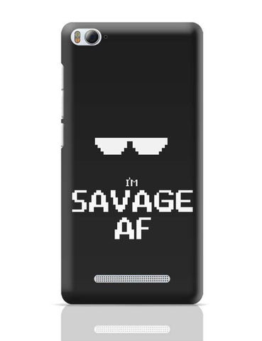 I'M Savage Af Xiaomi Mi 4i Covers Cases Online India