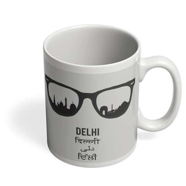 Delhi Through The Lenses Coffee Mug Online India
