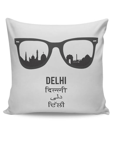 Delhi Through The Lenses Cushion Cover Online India