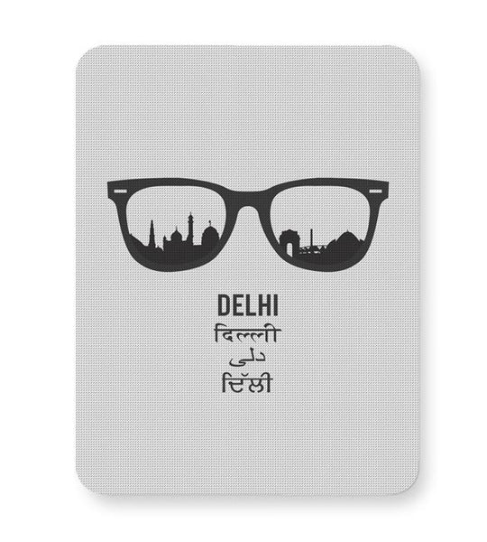 Delhi Through The Lenses Mousepad Online India