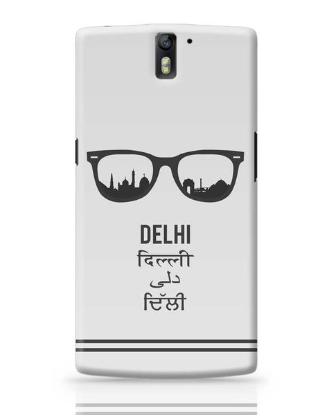 Delhi Through The Lenses OnePlus One Covers Cases Online India