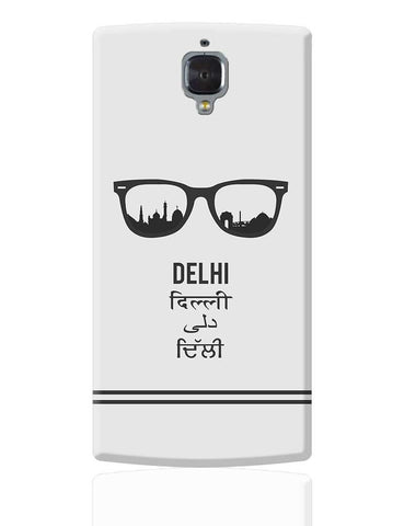 Delhi Through The Lenses OnePlus 3 Cover Online India