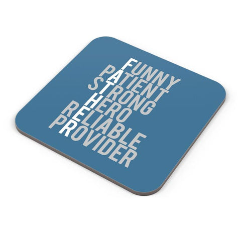 FATHER'S DAY Coaster Online India