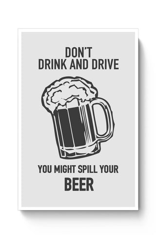 DONT DRINK AND DRIVE Poster Online India