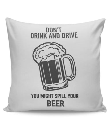 DONT DRINK AND DRIVE Cushion Cover Online India