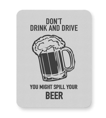 DONT DRINK AND DRIVE Mousepad Online India
