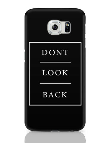DONT LOOK BACK Samsung Galaxy S6 Covers Cases Online India