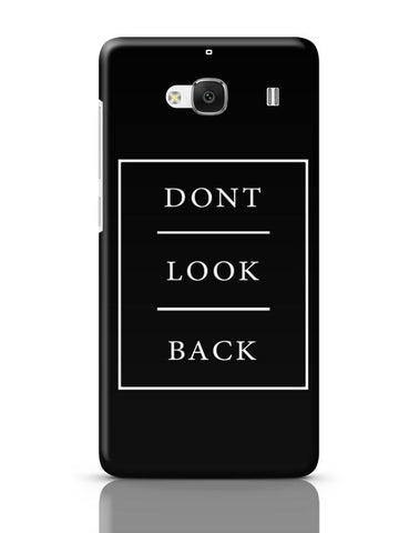 DONT LOOK BACK Redmi 2 / Redmi 2 Prime Covers Cases Online India