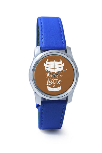 Women Wrist Watch India | Thanks A Latte Wrist Watch Online India