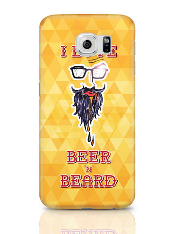 Samsung Galaxy S6 Covers & Cases | I Love Beer And Beard Samsung Galaxy S6 Covers & Cases Online India