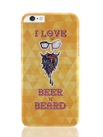 iPhone 6 Plus / 6S Plus Covers & Cases | I Love Beer And Beard iPhone 6 Plus / 6S Plus Covers and Cases Online India