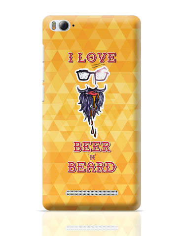Xiaomi Mi 4i Covers | I Love Beer and Beard Xiaomi Mi 4i Cover Online India