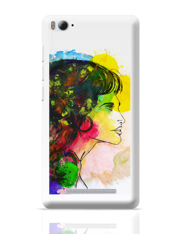 Xiaomi Mi 4i Covers | The Lady Abstract Art Sketch Xiaomi Mi 4i Cover Online India