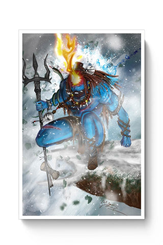 Shiva-the Warrior Poster Online India