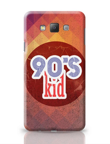 90's kid Samsung Galaxy A7 Covers Cases Online India