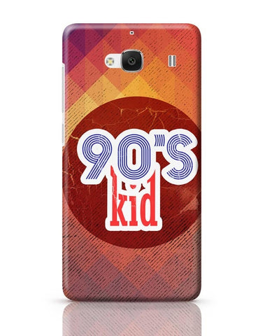 90's kid Redmi 2 / Redmi 2 Prime Covers Cases Online India