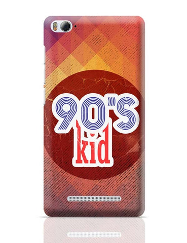 90's kid Xiaomi Mi 4i Covers Cases Online India