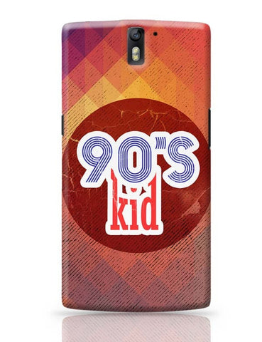 90's kid OnePlus One Covers Cases Online India