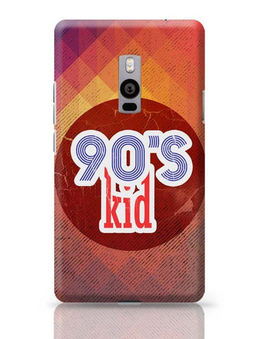 90's kid OnePlus Two Covers Cases Online India