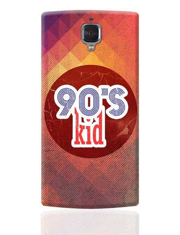 90's kid OnePlus 3 Cover Online India