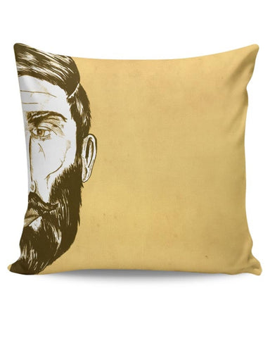 Bearded Man Cushion Cover Online India
