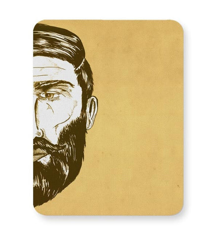 Bearded Man Mousepad Online India