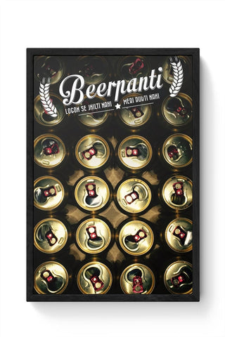 Beerpanti Framed Poster Online India