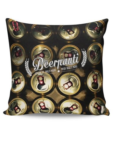 Beerpanti Cushion Cover Online India