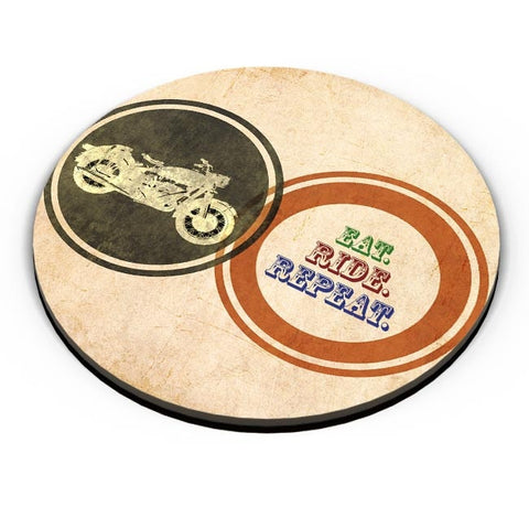 Eat Ride Repeat Fridge Magnet Online India