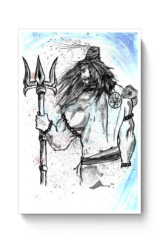 Shiva Sketch Poster Online India