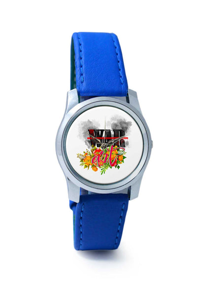 Women Wrist Watch India | Stop War Make Art Wrist Watch Online India