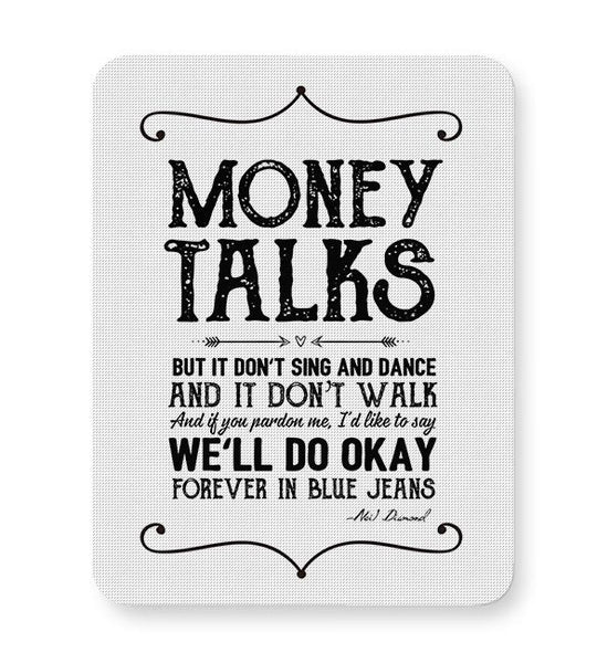 Money talks Mousepad Online India