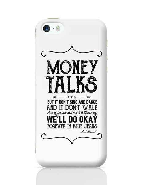 Money talks iPhone 5/5S Covers Cases Online India