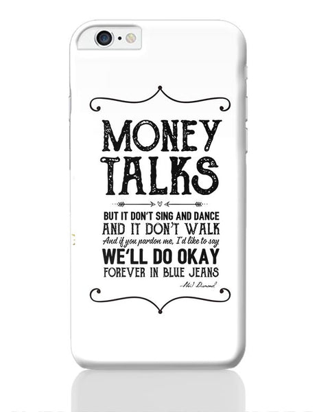 Money talks iPhone 6 Plus / 6S Plus Covers Cases Online India