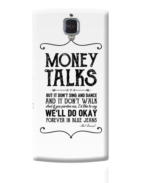 Money talks OnePlus 3 Covers Cases Online India