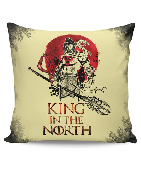 Shiva-king in the north Cushion Cover Online India