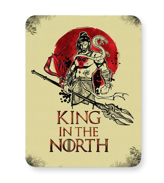 Shiva-king in the north Mousepad Online India