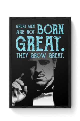 Godfather quote Framed Poster Online India