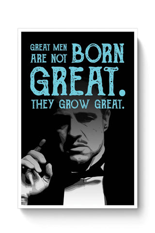 Buy Godfather quote Poster