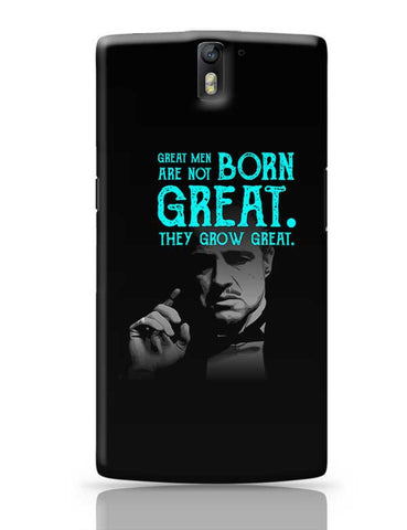 Godfather quote OnePlus One Covers Cases Online India