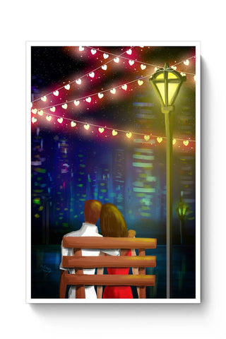 Bench couple Poster Online India