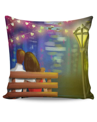 Bench couple Cushion Cover Online India