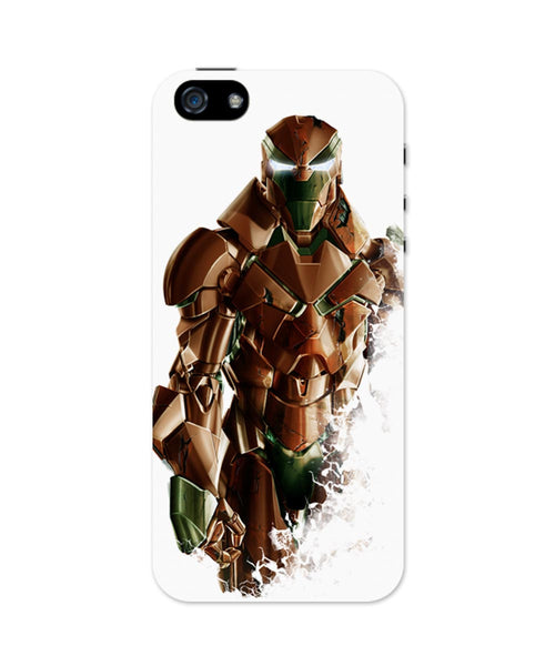 iPhone 5 / 5S Cases & Covers | Iron Man A Name of Excellence, Depth & Focus iPhone 5 / 5S Case Online India