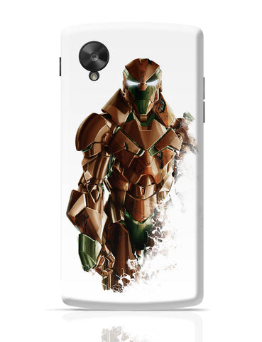 Google Nexus 5 Covers | Iron Man A Name of Excellence, Depth & Focus Google Nexus 5 Cover Online India