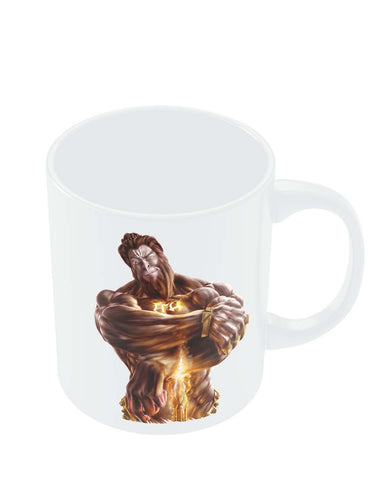 Coffee Mugs Online | The Mighty Hanuman | Symbol of Strength Mug Online India
