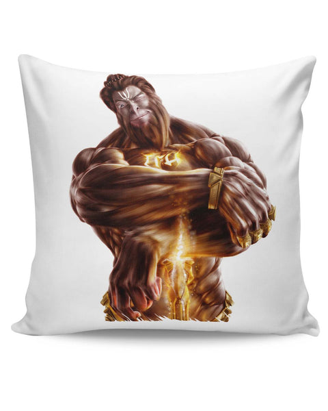 PosterGuy | The Mighty Hanuman | Symbol of Strength Cushion Cover Online India